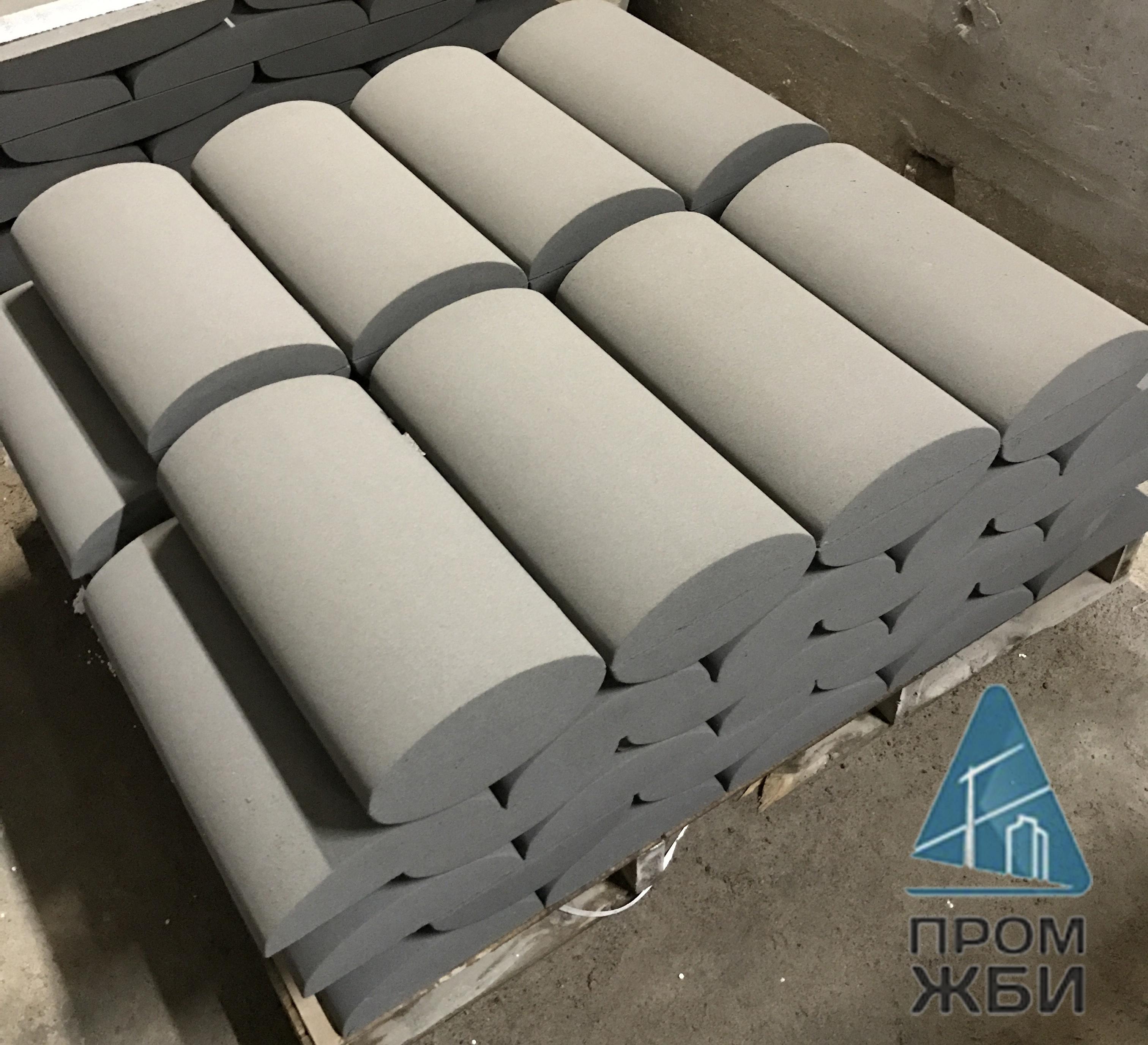 Купить парапетные крышки из бетона купить светящийся бетон